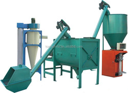 factory price cement lime mortar processing production line/cement lime mortar product line