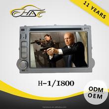 Double Din DVD Car Audio For Hyundai H1 Multimedia Radio GPS Navigation System