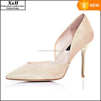 2016 Crystal Wedding Shoes Pointed Toe High Heel Shining Bridal Shoe for Party Evening Event Bridal Accessories