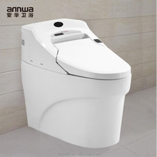 luxury portable eco water saving intelligent toilet with soft close seat
