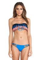 Summer Full-Lined Flirty Jungle Pattern Swimsuits New Women Beach Biquini Swimwear Sexy Cute Bikini Set