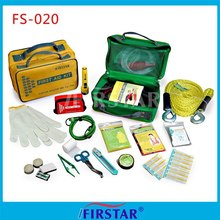 Promotional medical car road emergency kit first aid kit