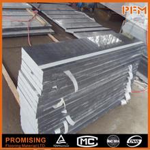 Chinese G654 Black Granite CNC cutting regular size granite stone curb stone