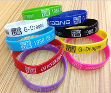 Promotion Thin Silicone Wristbands, Rubber Bracelets, Party Favors