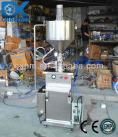 Guangzhou cheese mixing filling machine with heating treatment