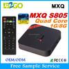 Hot Sale 2015 free arab sex movies keyboard Amlogic S805 1g 8g xbmc 14.0 remote control 4K Google Set Top Box