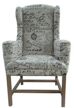 2015 Corner Decorative High Back Chair For Hotel/Waiting Room