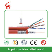 High quality ADP Composite 1-Cat5E with 1-RG6 coaxial cable