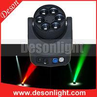 deson Rotating Stage Light 6pcs 15W k10 k20 led Bee Moving Head Light