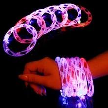halloween accessory colorful led bracelet