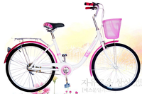 24 inch steel frame and alloy wheel dutch classic city lady adult bicycle/bike