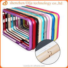 Olja metal bumper mobile phone case for iphone 6, for iphone 6 metal bumper case