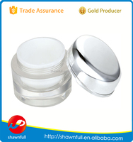 Cheap PS plastic round 5g - 50g cosmetic jars wholesaler