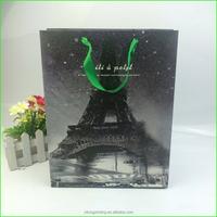 European style fashion paper shopping bag