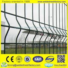 High quality fence panel Welded wire mesh safety fence panel,