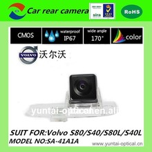 HD car rear view reversing camera for Volvo S80L/S40L/S80/S40 (original plate number lamp) back up camera