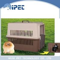 High tolerance travel plastic pet cage