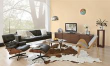 Modern Charles Eames Lounge chair+ottoman HC011