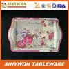 Popular Design Cheap Melamine Plastic Tray Rectangular