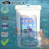 mobile phone seal waterproof bag/pvc cell waterproof pouch/pvc mobile phone waterproof seal pouch