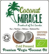 UK Certified Organic Premium Virgin Coconut Oil