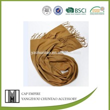 BSCI audit fashion strip knitted scarf