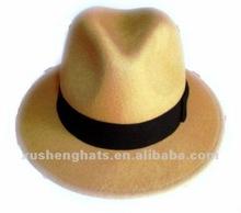 fedora hat.100% wool felt men hat