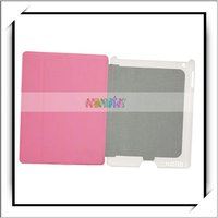 Hot! Pink USB Charging Case For iPad 2 With Smart Cover