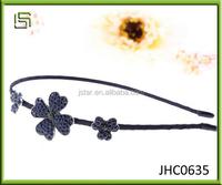 2015 HIgh quality New design Four Leaf Clover alloy hair clasp