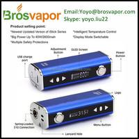 New production technology in china A Box 150w box mod 18650vw mods ecig vs istick 40w huge vapor mod box mod