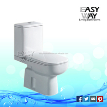 Good quality modern design two piece washdown dual flush ceramic toilet