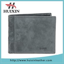 Famous Branded Human Genuine Leather Wallet Pattern