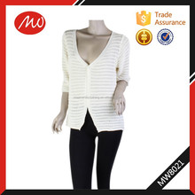 wholesale ladies hand knitted cardigan