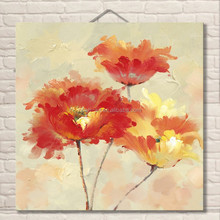 Home decor wholesale orchid flower painting