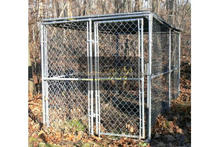 10x5x6 ft classic galvanized outdoor dog kennel