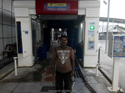 Automatic car cleaner with galvanized material, Best solutions to the carwash business