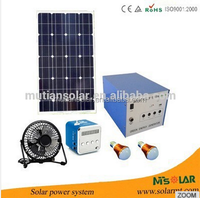NEW Arrival Mini Solar Energy System 50W Solar Panel Home Lighting System