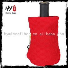 Eco-friendly competitive price christmas wine bottle cover, Custom Wine Bags, felt wine cover