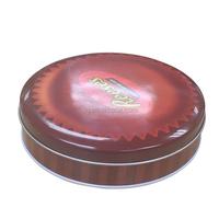 Food grade round cookies tin box