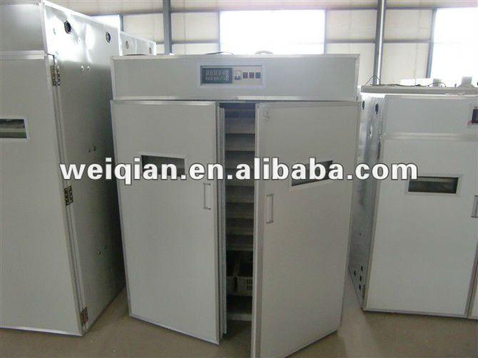 Wq-2640 automático incubadora del pollo y criadero