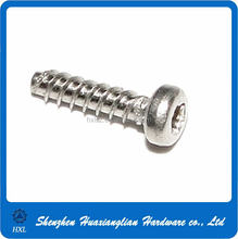 Competitive price of stainless steel or steel pt screw with good quality