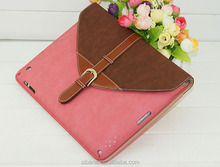 OEM mix color available envelop pu case for ipad2,3, 4 new arrival bag case for ipad 2,3, 4 protector pouch