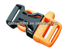 Plastic two color combination plastic side release buckle