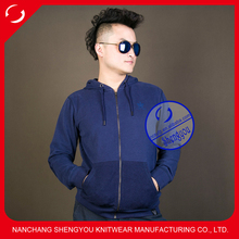 custom high quality mens french terry embroidered hoodies&sweatshirts wholesale