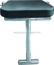 bathroom fold up shower seat,wall mounted with supported leg