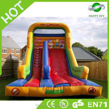 2015 High quality top sale residential inflatable water slides, giant inflatable slide, funny inflatable slide