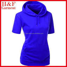 fat women hood t-shirt made of cotton
