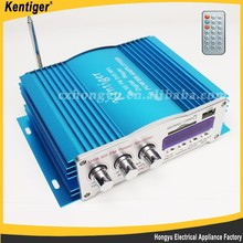 12V Car audio equipment power amplifier with 4 channel car audio
