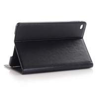 Honest Supplier Crazy Horse Texture Leather Tablet Case Cover for iPad mini 4 with Sleep / Wake-up Function
