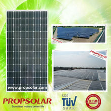 Propsolar tuv, iso, ce certificated solar do painel 300w galum